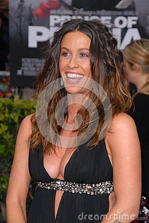 Alanis Morissette Editorial Photo