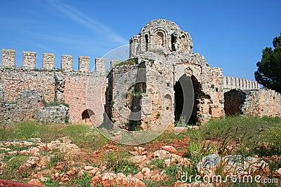 Alanya Castle Detail