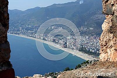 Alanya cityscape