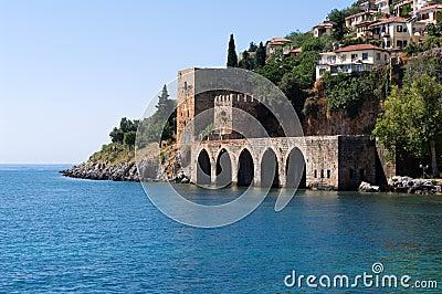 Alanyas  mediterranean coastline