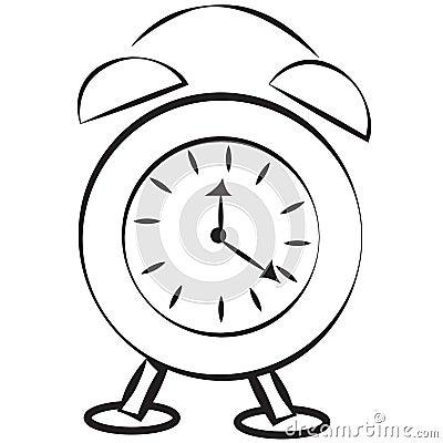Free Alarm Clock Royalty Free Stock Photo - 55232845