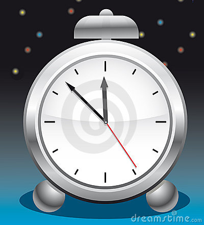 Alarm clock with a bell
