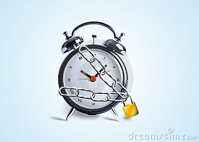 Alarm Clock in chains