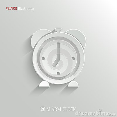 Free Alarm Clock Icon - Vector Web Background Stock Images - 39352944