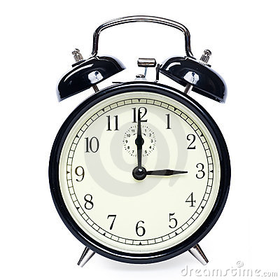 Free Alarm Clock Isolated Royalty Free Stock Photos - 5477818