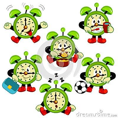 Free Alarm Clock Routine Stock Image - 38296151