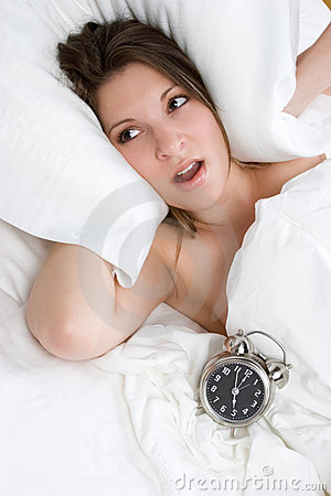 Alarm Clock Woman