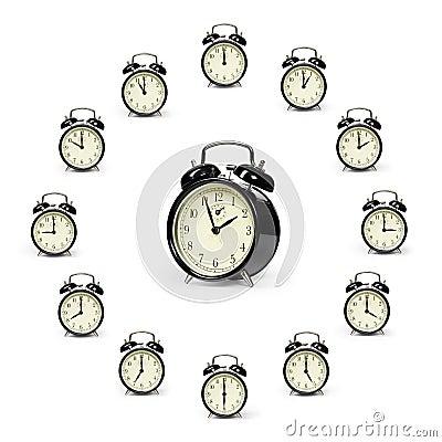 Free Alarm Clocks Royalty Free Stock Photos - 7811088