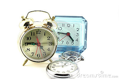 Alarm clocks and watches