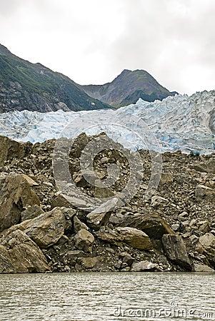 Free Alaska - Davidson Glacier Stock Photo - 39492480