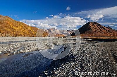 Alaska Denali National Park Toklat River
