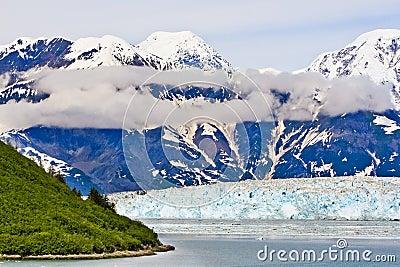 Alaska Haenke Island Hubbard Glacier