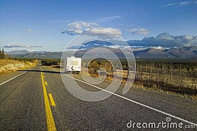 Alaska Highway, Alaska, USA
