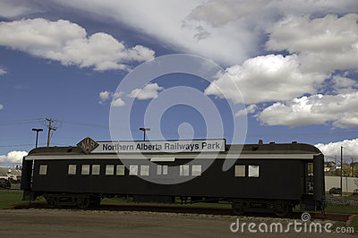 Alaska Highway Train Station