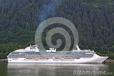 Alaska - Princess Cruise Ship Juneau Editorial Photo