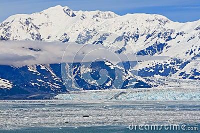 Alaska St. Elias Mountains Hubbard Glacier 2