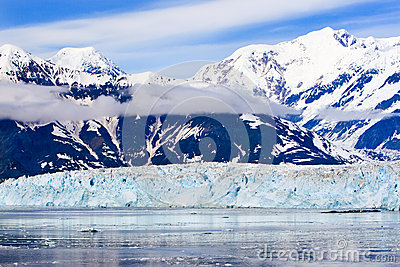 Alaska St. Elias Mountains Hubbard Glacier