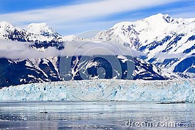 Alaska St. Elias Mountains Hubbard Glacier