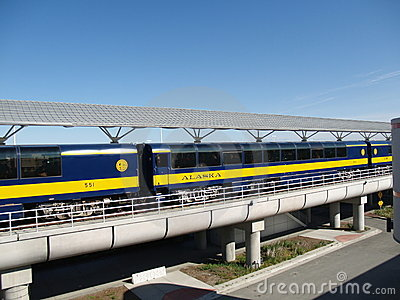 Alaska Train Stock Photos - Image: 10654673