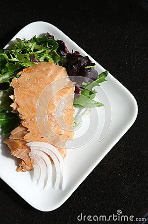 Alasken smoked sockeye salmon