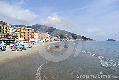 Alassio, Italy Editorial Photography