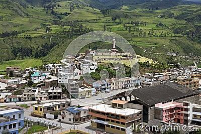 Alausi - Chimborazo Province - Ecuador Editorial Photography