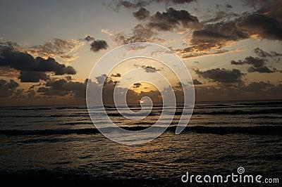 Alba dell oceano