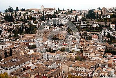 Albaicin neighborhood view