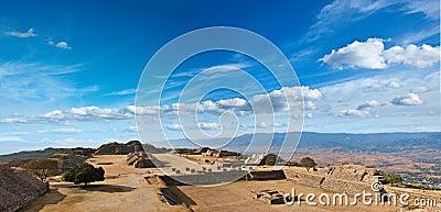 Alban Mexico monte panoramy święty miejsce