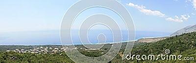Albanian Coast Landscape