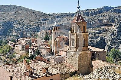 Albarracin, medieval town of Spain