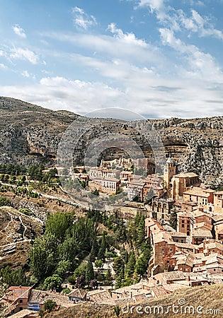 Albarracin in vertical