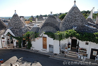 Alberobello Souvenir Shops Editorial Image