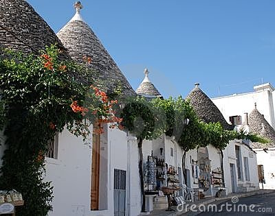 Alberobello Souvenir Shops, Italy Editorial Photography