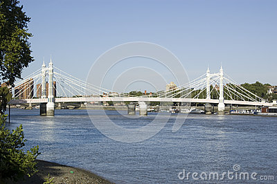 Albert Bridge, Battersea, London