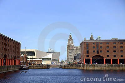 The Albert Dock in Liverpool