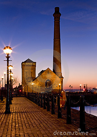 Albert Dock - Liverpool - England Editorial Photo