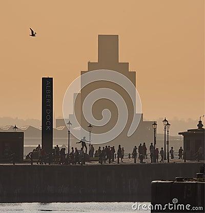 Albert Dock - Liverpool - England Editorial Stock Image