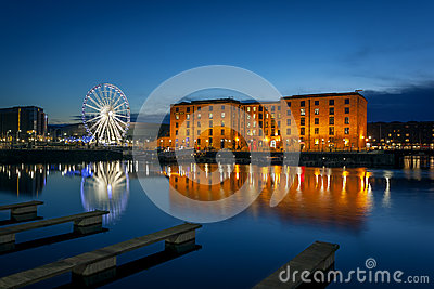 Albert dock, liverpool England