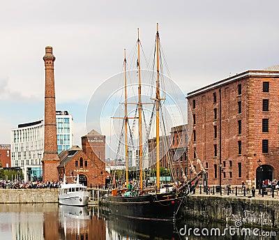 Albert Docks & Merseyside Maritime Museum Editorial Photography