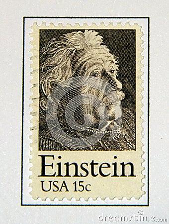 Albert Einstein Editorial Stock Photo