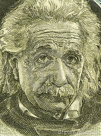 Albert Einstein Editorial Stock Image