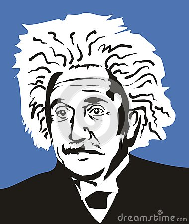 Albert Einstein Fotografia Editoriale