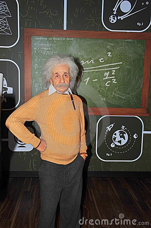 Albert Einstein, Nobel prize winner physicist Editorial Stock Photo