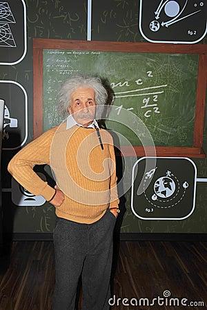 Albert Einstein, Nobel prize winner physicist Editorial Stock Photo