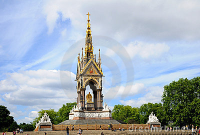 Albert Memorial Editorial Stock Image
