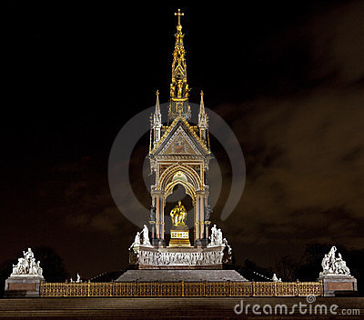 The Albert Memorial in Kensington
