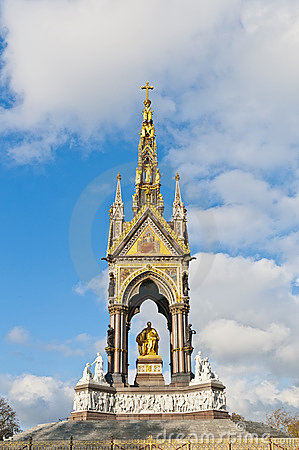 Albert Memorial at London, England