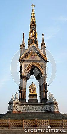 Albert Memorial, London, UK.