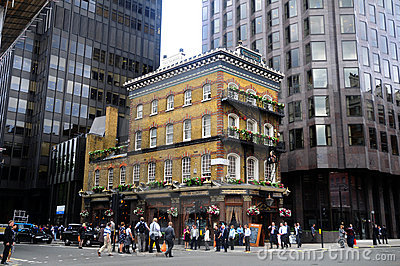 The Albert Pub in London Editorial Stock Image